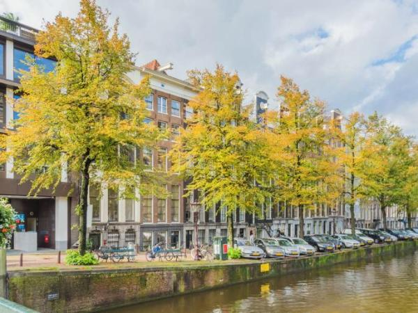 A condo on a canal in Amsterdam