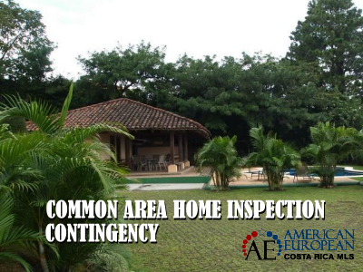 Request a common area home inspection contingency in a condominium