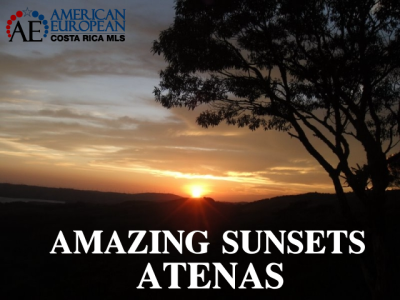 Watch the amazing sunsets in Atenas