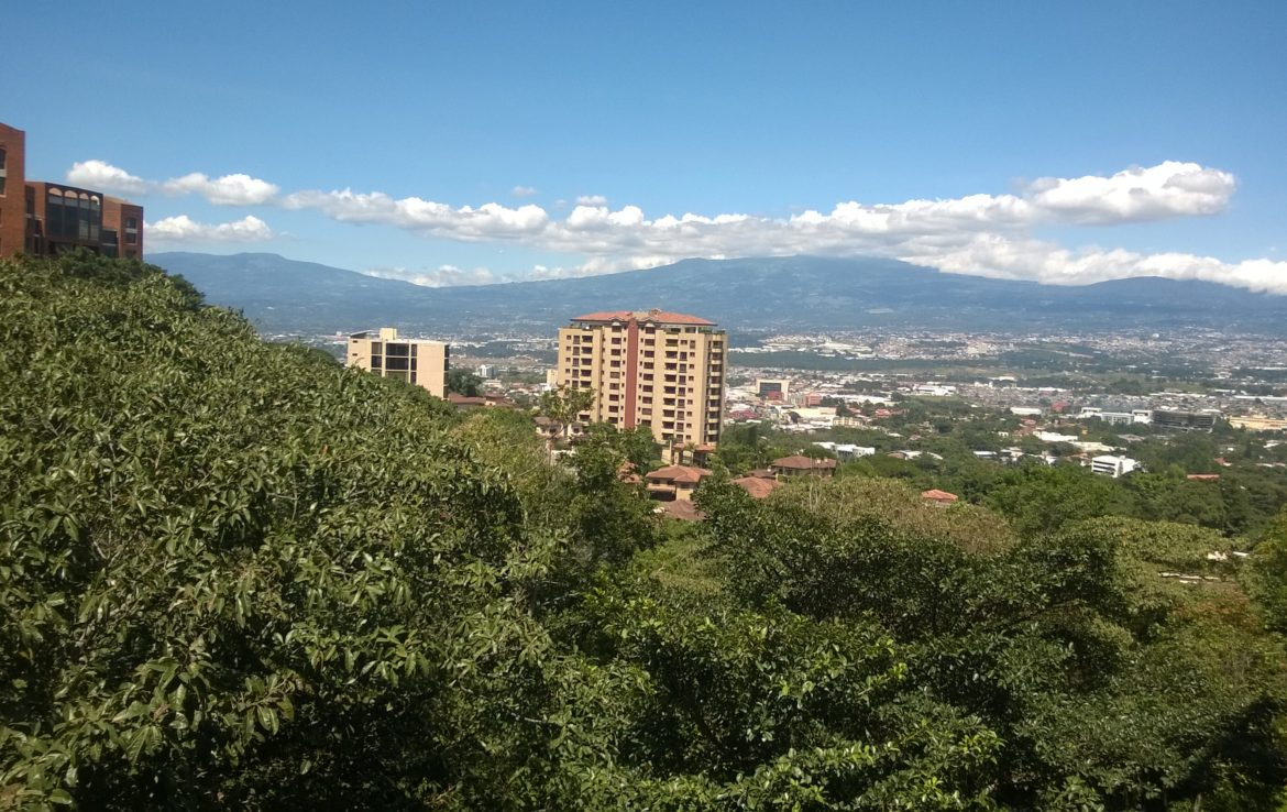 Escazu city light view condo