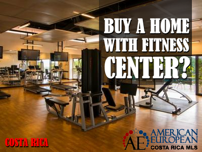 Buy a home with a fitness center