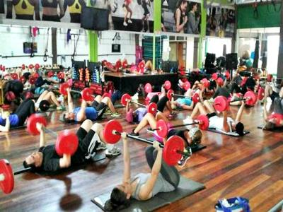Body pump at Arena Trek