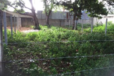 Centrally located Liberia building lot