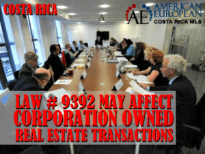 corporation owned real estate