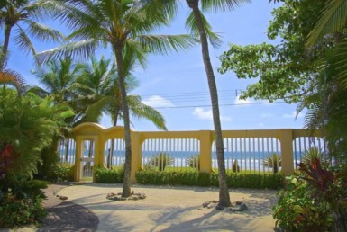Jaco beach front home for sale