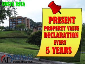 Mandatory property value declaration in Costa Rica