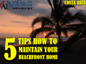 5 Tips for Maintaining Your Beachfront Vacation Home