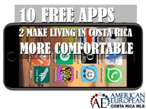Apps to make living in Costa Rica more comfortable