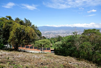 Magnificent city view half acre Escazu building lot