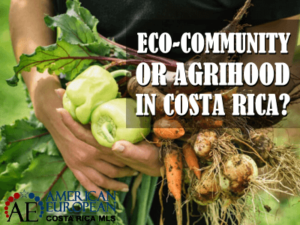 Is buying in Eco-community or Agrihood in Costa Rica possible?