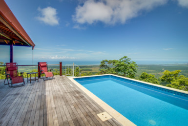 Dominical Bali Style Ocean View Home for sale