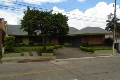 Escazu Embassy Row 5 Bedroom home with large social areas