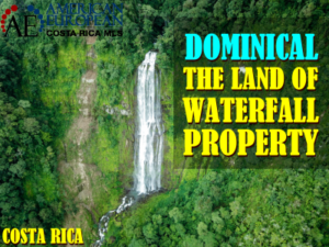 Dominical – the land of waterfall property in Costa Rica