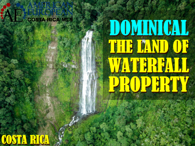 Unique 21 5 Ha Waterfall Jungle Property With Road Access At