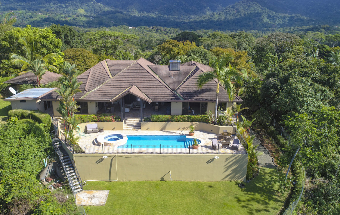 Magnificent Ojochal 5 BR Ocean View Home
