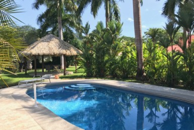 Los Delfines Residential Building Lot with pool for sale.