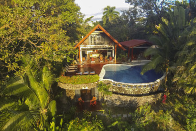 Stunning Manuel Antonio 3 Story Estate in Playa Espadilla for sale.
