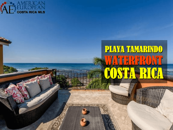 Can waterfront property in Costa Rica be used to build a boat dock?