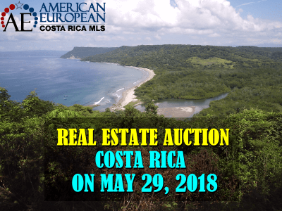 Costa Rica Real Estate Auction - Playa Cabuyal North Pacific