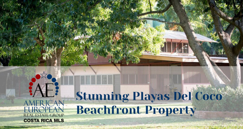 Stunning Playas Del Coco Beachfront Property video