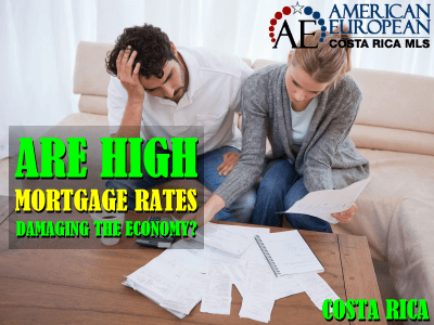 the mortgage rate in Costa Rica