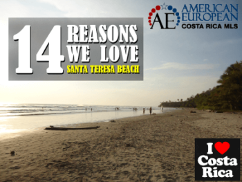 14 Reasons why we love Santa Teresa Beach