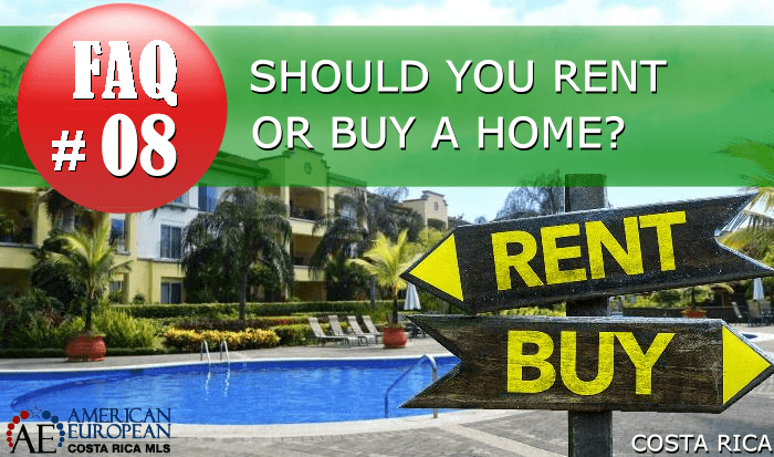 Real Estate FAQ | Is renting or buying better?