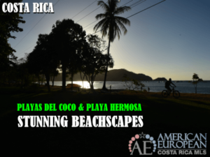 Stunning Playas del Coco and Playa Hermosa beachscapes