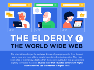 Seniors use the internet more than ever