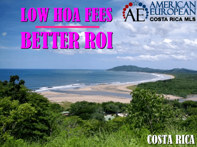 A low HOA fee is important for a good ROI when buying a condo