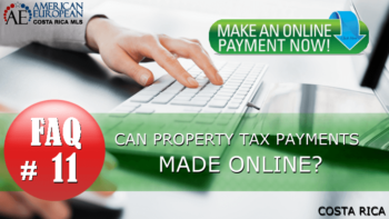 FAQ ⌂ Is it possible to make property tax payments online?