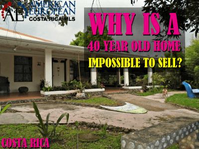 Why is a 40 year old home is impossible to sell