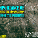 Request the zoning or uso de suelo before property purchase