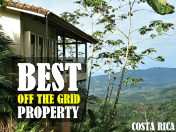 Best off the grid property in Costa Rica