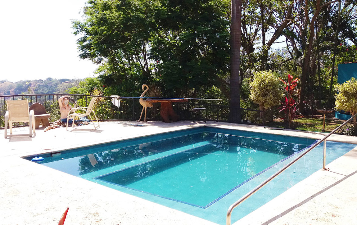 Pet friendly 2 BR furnished Atenas home with a pool
