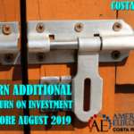 Earn additional ROI buying investment property before August 2019