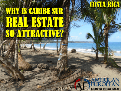 Why is Caribe Sur real estate so attractive?