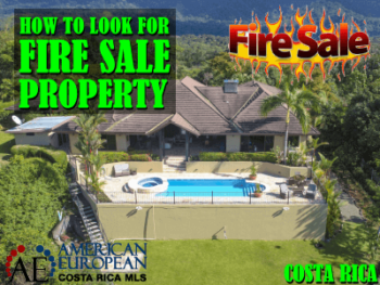 How to look for fire sale property in Costa Rica