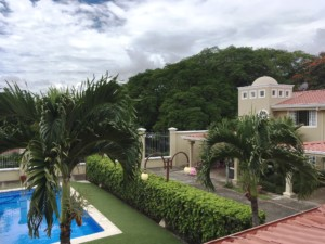 End 4 BR Escazu Townhouse in gated community - pool