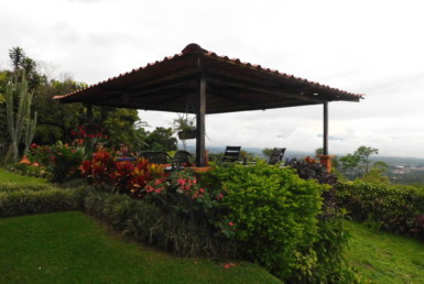 Private fully furnished San Luis Grecia 1 BR apartment with wonderful views
