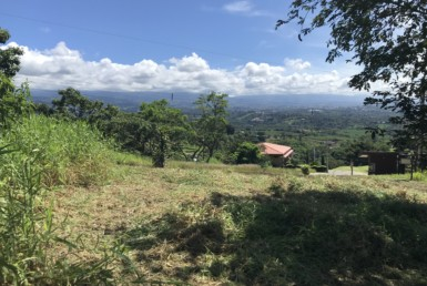 Naranjo View Lot in Gated Community with easy access to the Pan American Highway