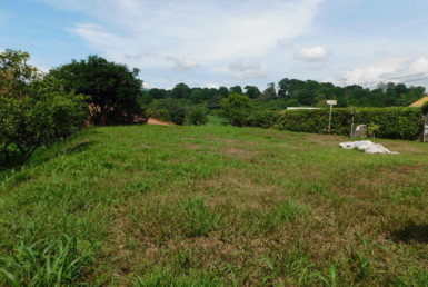Beautiful and flat Sarchi mountain view building lot