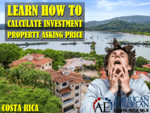 How to calculate investment property asking price correctly when selling?
