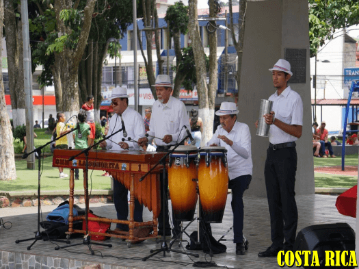 Music of marimbas are a must in popular events