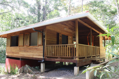 Playa Cocles Hardwood 2 BR Vacation Bungalow
