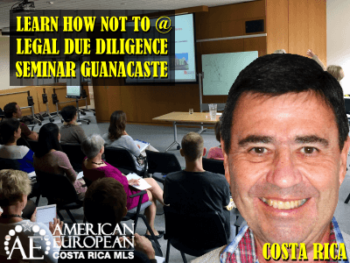 Legal Due Diligence Seminar Before Moving to Costa Rica