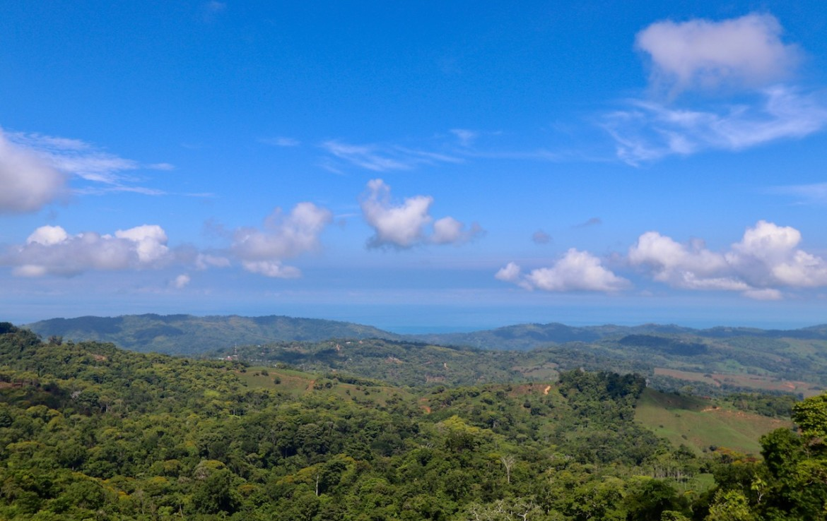 22 Acre Mountain View Dominical Property or 2+ Acre Homesite