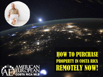 How to buy property remotely from the USA now?