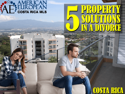 5 Solutions to handle your property in a divorce