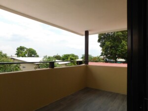 New 2 BR Grecia apartment for rent with balcony